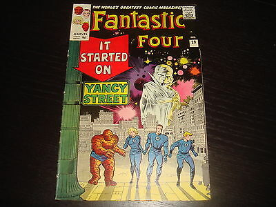 FANTASTIC FOUR #29   Lee / Kirby Silver Age Marvel Comics 1964 FN+/VFN-
