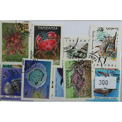 Sea Animals. 25 stamps, all different. (300)