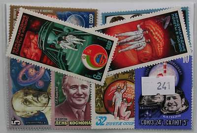 Space (Russia only). 20 stamps, all different. (241)
