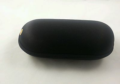 6'' Padded Pouch Hard Case Protective For Glass Pipe Storage Zipper Travel Black