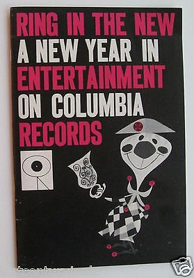 Catalog ForColumbia Records 1950's