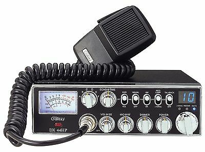 Galaxy DX-44HP 10 Meter Amateur Ham Mobile Radio DX44HP NEW PRO TUNED, ALIGNED