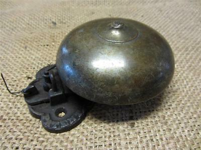 Vintage Brass Boxing Bell > Antique Sports Old Iron Box School Fire Bells 9000