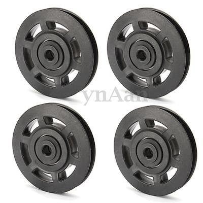 95*10*18mm ABS Durable Bearing Pulley Wheel Cable Gym Fitness Equipment Parts