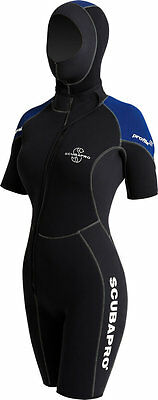Scubapro Profile 5/4 Wetsuit Jacket Lady Large                             (mr6)