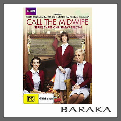 Call the Midwife Series Season 3 Three Christmas Special BBC DVD R4 New & Sealed