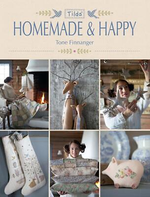 Tilda Homemade and Happy by Tone Finnanger (English) Paperback Book Free Shippin