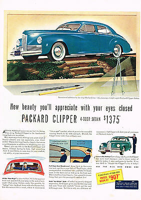 Advertising Vintage 1941 Magazine Ad For Packard Handsomest Thing That Runs On Rubber
