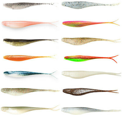 Z Man Scented Jerk ShadZ 5 inch Soft Plastic Jerkbait 5 pack - Fishing Bait