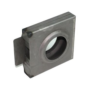 "Gate Lockbox Single Hole Weldable Steel 4 1/4"" x 4 7/16"" x 1"" Unpainted"