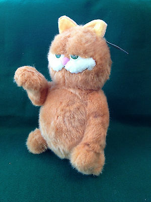 """GARFIELD THE MOVIE PLUSH TOY WITH TAGS - 12"""" SITTING"""