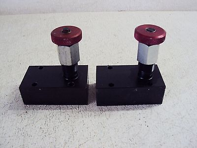 PARKER MANATROL RPS-600-S HYDRAULIC VALVE (LOT OF 2) USED