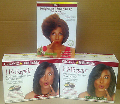 Organic Root Stimulator Hairepair No Lye Conditioning Relaxer Systems