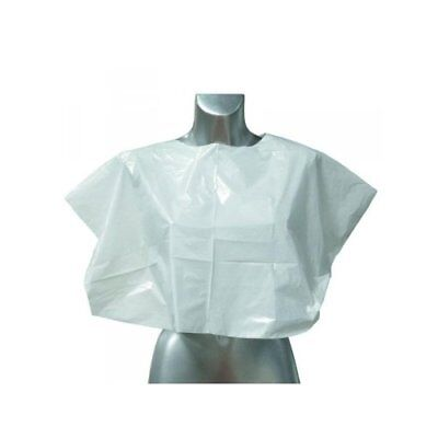 DMI Disposable Shoulder Capes Clear