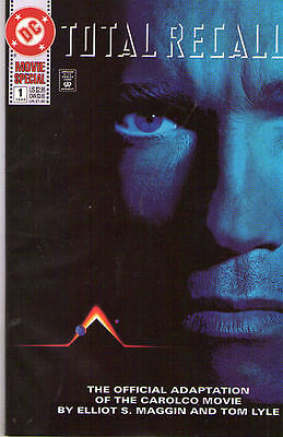 TOTAL RECALL #1 (1990) - Back Issue