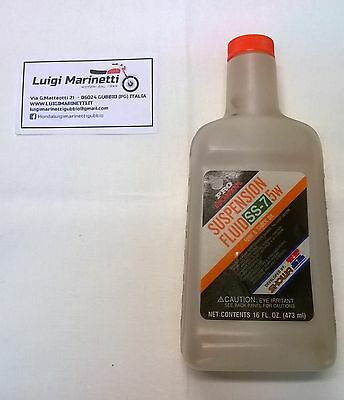 Olio sospensioni-Oil suspension fluid fork&shock HONDA SS-7 SHOWA HRC 5W - 473ml