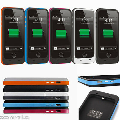 3800mAh iPhone 6 External Battery Backup Charging Bank Power Case Cover
