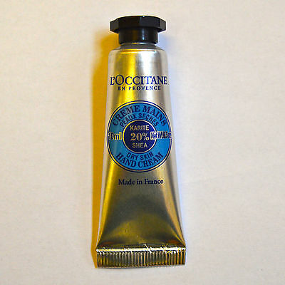 L'Occitane Dry Skin Hand Cream with 20% Shea Butter 10ml NEW