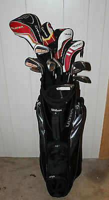 Taylormade Club & Driver Set with Wilson Bag