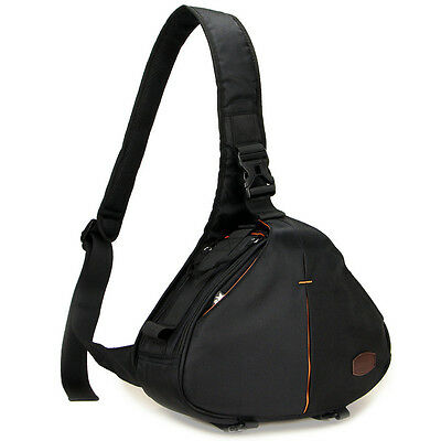 High quality Caseman C10 Black DSLR Camera Bag Triangle Shoulder Case waterpoof