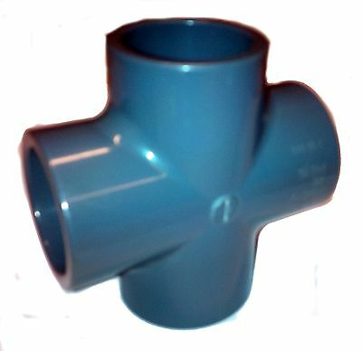 PVC Pipe Cross Solvent Weld Glue 20mm 25mm 32mm 40mm 50mm 63mm 75mm 90mm