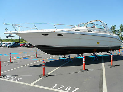 1995 Sea Ray Sundancer 330 Twin V8 Boat with Low hours 34' Very  84 Hours Gen
