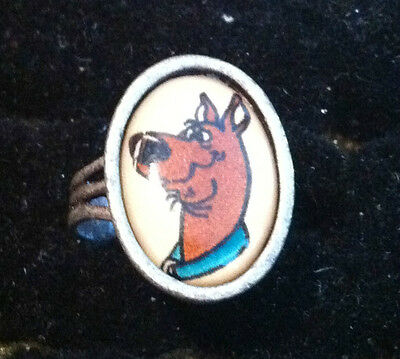 VINTAGE 60s SCOOBY DOO DOG gumball RING SCOOBY Doo 70s cartoon show mystery tv