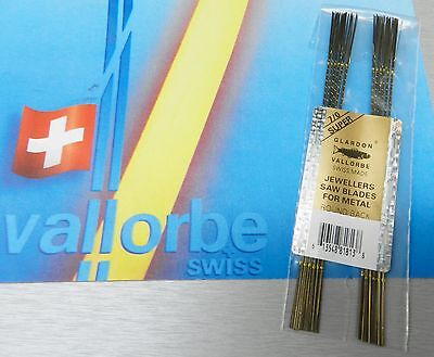 VALLORBE SWISS SAW BLADES LAMES de SCIE #7/0 Jewelers Saws ORIGINAL A-1 1-Gross