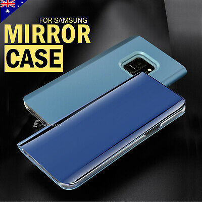 Premium Slim Mirror Luxury Case Cover For Samsung Galaxy S9 S8 Plus S7 Note 9 8