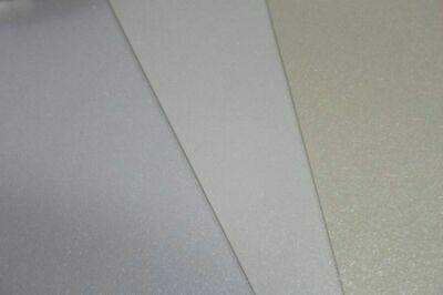 A4 Sheets of CRAFT paper (white, ivory, cream, linen, smooth, TEXTURED Hammered)
