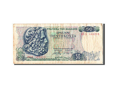 [#304982] Greece, 50 Drachmai, 1978, KM #199a, 1978-12-08, VF(30-35)