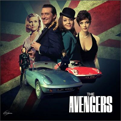 The Avengers Drinks Coasters, Fridge Magnets & Keyrings Steed Gayle Peel & More