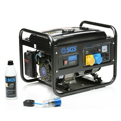 2.8 kVA Heavy Duty Portable Petrol Generator With Oil & Flylead
