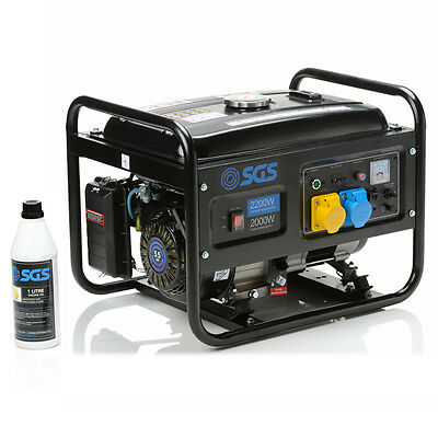 2.8 kVA Heavy Duty Portable Petrol Generator With Oil
