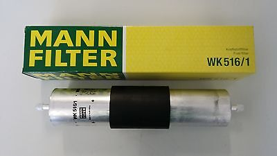 Alpina/bmw Engine Inline Fuel/petrol Filter - Mann-Filter - 13321740985 Wk516/1
