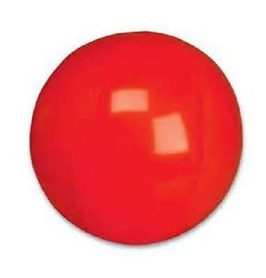 "12 MINI RED BEACH BALLS 6"" Pool Party Beachball #AA41 Free Shipping"