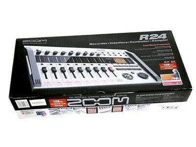 NEW ZOOM R24 Multitrack Recorder with Tracking IMPORT From Japan