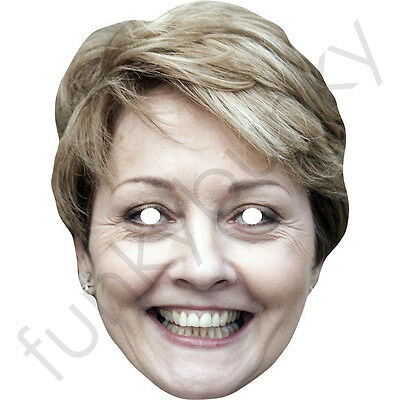 All Masks Are Pre Cut Anne Hegerty The Chase I/'m A Celebrity Card Mask