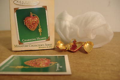 ~Charming Hearts~Miniature~2004 Hallmark Ornament~# 2~