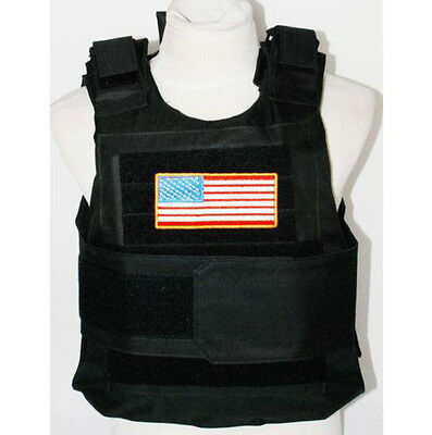 New Syle Tactical Airsoft Paintball Body Armor Vest BK Black- US029