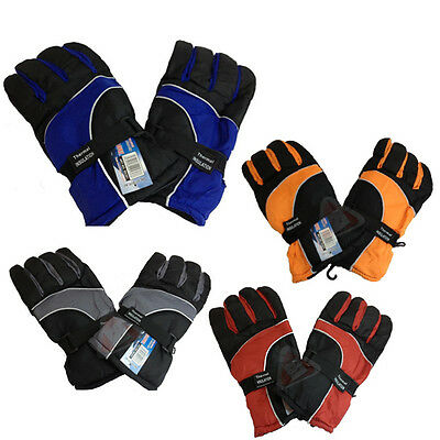 Thermal Insulation Winter Warm Ski Gloves Lining Waterproof Heated New