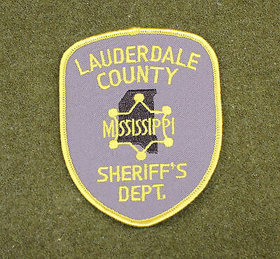 29895) Patch Lauderdale County Mississippi Sheriff Department Police Law Enforce
