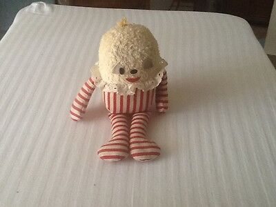 Vintage Dee Gee of California Humpty-Dumpty Terry Cloth Doll