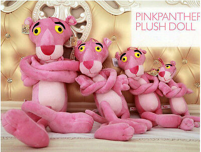 Cute Pink Panther Kids Girl Christmas Birthday Lover Gifts Doll Mini Stuffed Toy