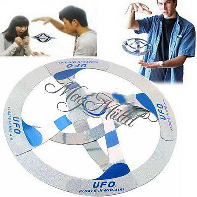 Amazing Mystery UFO Floating Flying Disk Saucer Magic Cool Trick Toy Sales Z