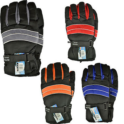 Thermal Insulation Winter Warm Ski Gloves Lining Waterproof Heated Cold