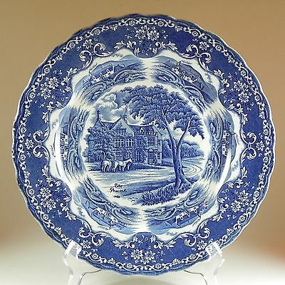 WH Grindley English Country Inns Series The Peacock Plate Platter Discontinued