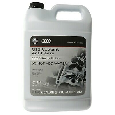 1998-2017 VW Volkswagen G12 Engine Red Coolant Antifreeze 1 Gallon OEM NEW