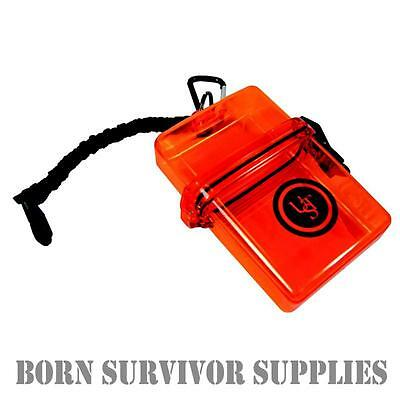 Ultimate Survival WATERTIGHT CASE - Waterproof Hardcase Storage Plastic Bit Box