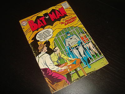 BATMAN #110  Early Silver Age Joker DC Comics 1957  FN-